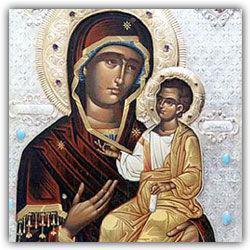 На Иверскую икону Божией Матери