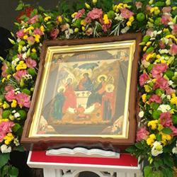 Всенощное бдение. С праздником Святой Троицы!