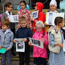 Воскресная школа «Лествичка», выступление посвящённое Дню Победы!