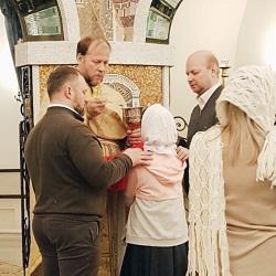 Вчера прошла первая детская Божественная литургия